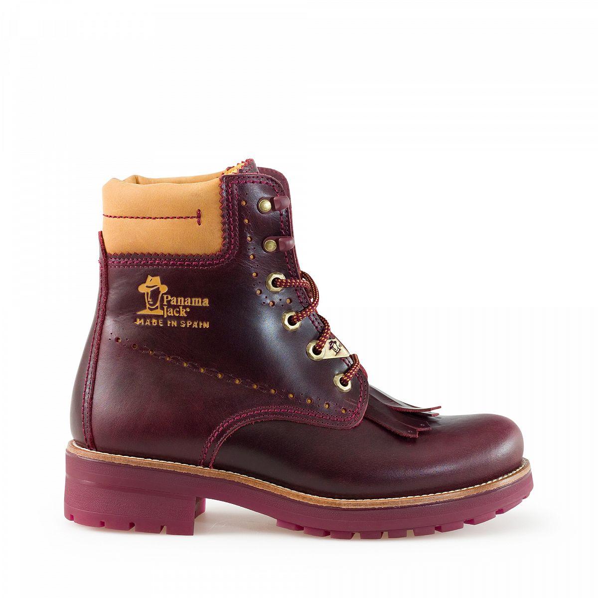 womens boots panama 03 bohemian burgundy panama jack. Black Bedroom Furniture Sets. Home Design Ideas