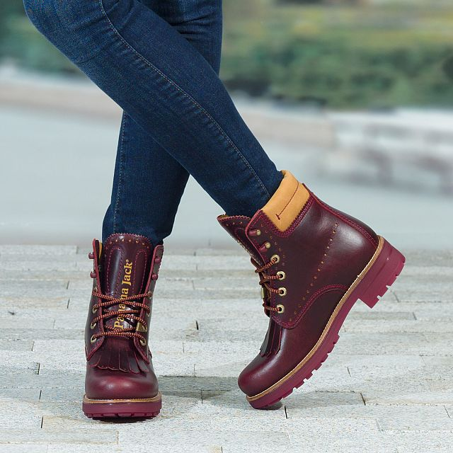 Panama 03 Bohemian Burgundy Pull-Up Woman Footwear-1
