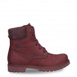 Panama 03 Full Color Burgundy Nobuck Woman Footwear