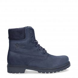 Panama 03 Full Color Navy blue Nobuck Woman Footwear