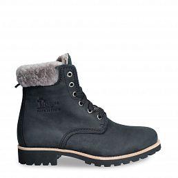 Panama 03 Igloo Black Nobuck Woman Footwear
