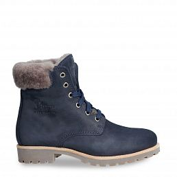 Panama 03 Igloo Navy blue Nobuck