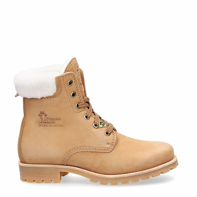 Panama Jack Panama 03 Igloo Natural Nobuck Woman Footwear