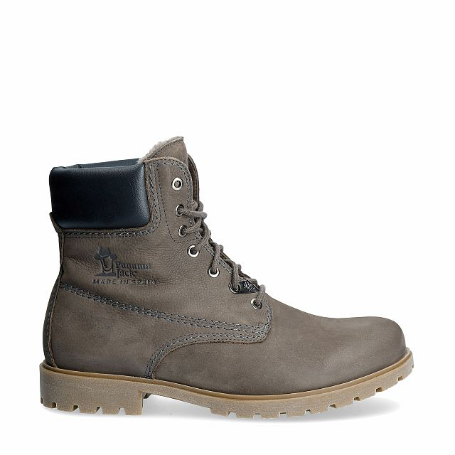 Panama 03 Igloo Grey Nobuck Man Footwear