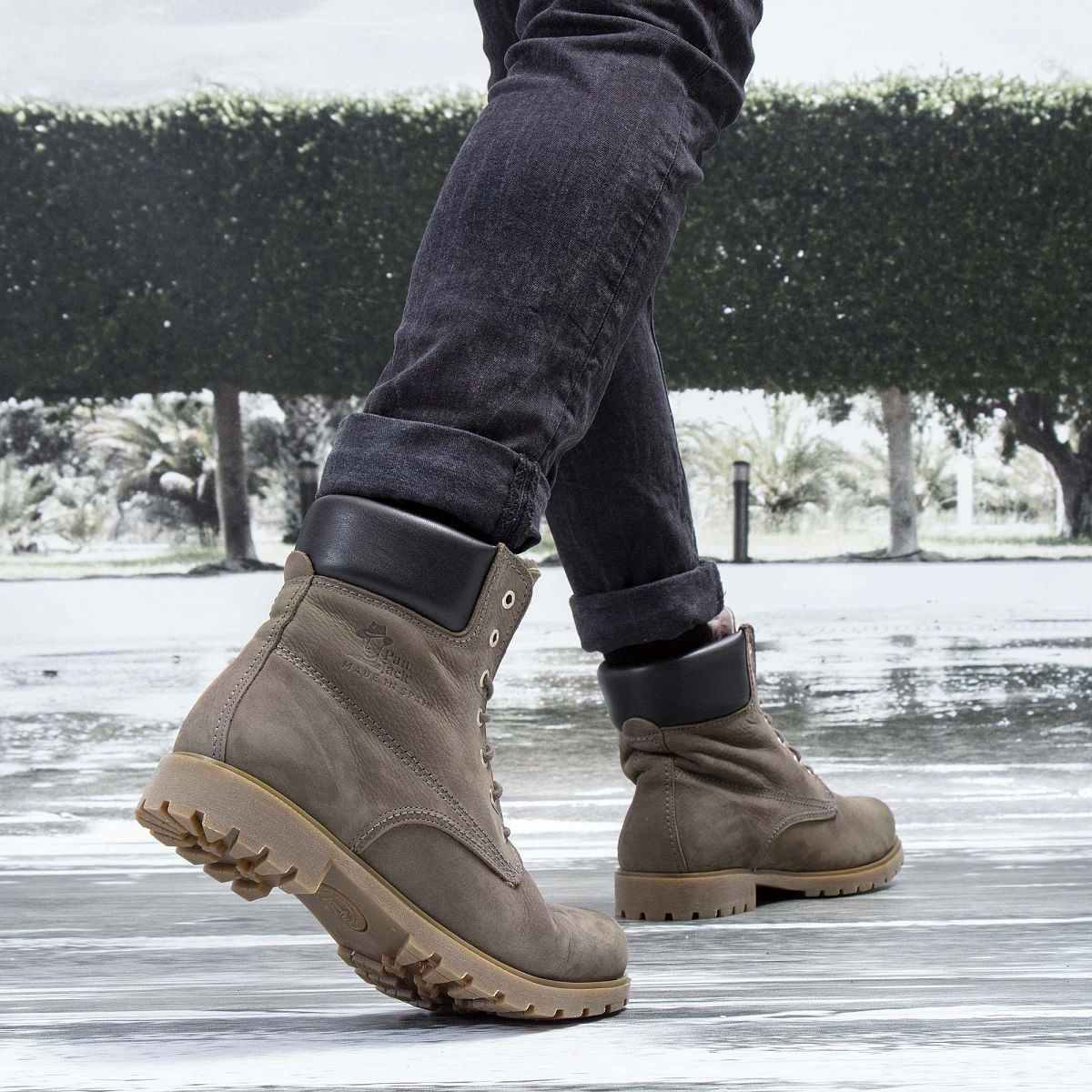 5a39c3e8473 Men's boot PANAMA 03 IGLOO grey | PANAMA JACK® Official store