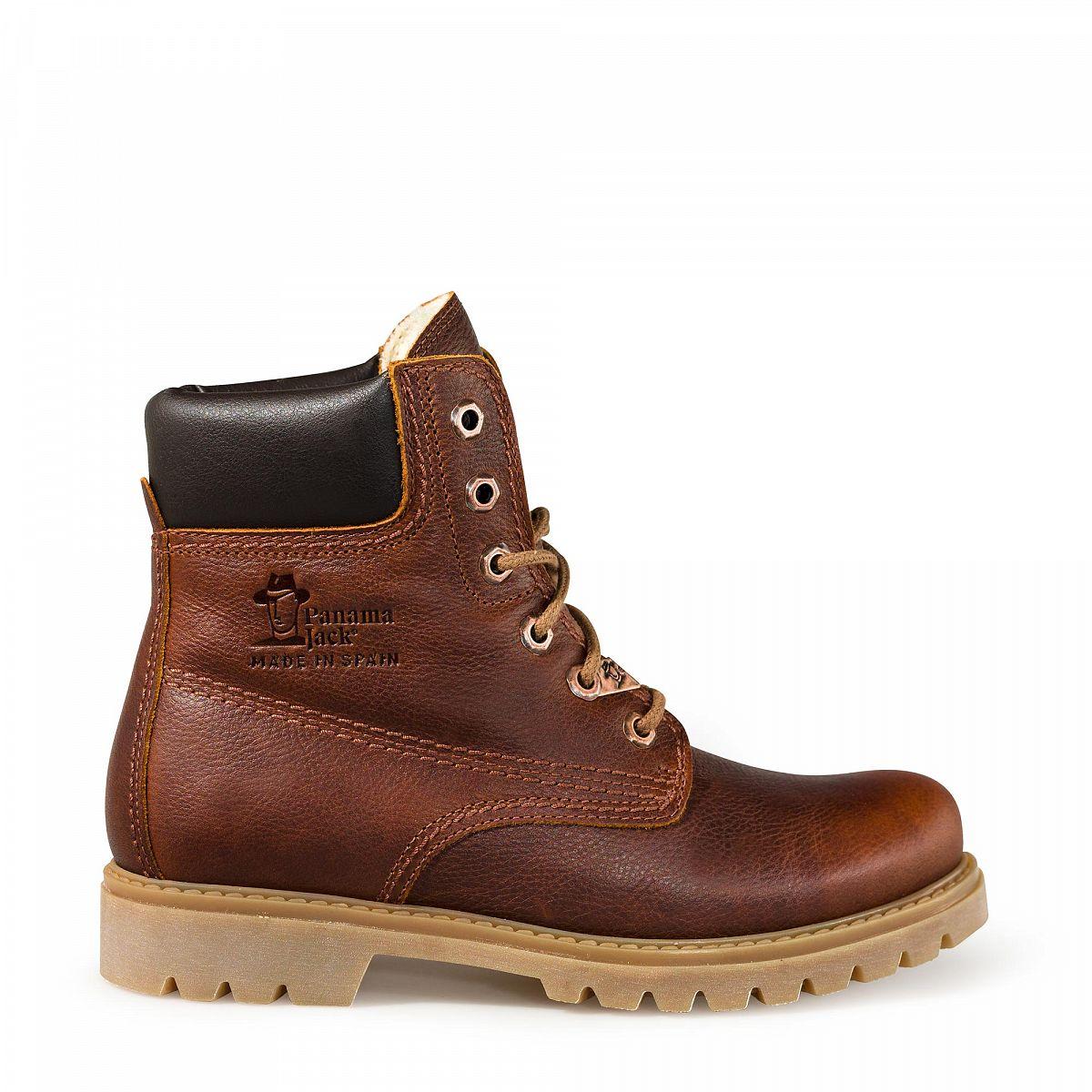 womens boots panama 03 wool bark panama jack shop. Black Bedroom Furniture Sets. Home Design Ideas