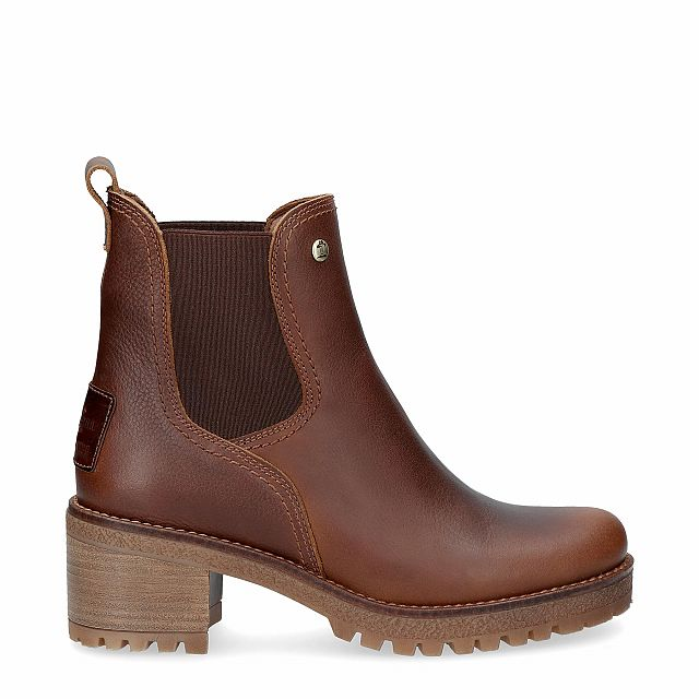 Pia bark cognac Napa Grass Woman Footwear