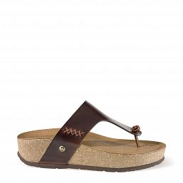 Panama Jack Quinoa Clay Bark Pull-Up Woman Footwear