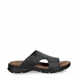 Robin Basics Black Napa Grass Man Footwear
