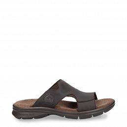 Robin Basics Brown Napa Grass Man Footwear