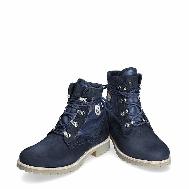 Panama Jack Route Boot Reporter Navy blue Nobuck Woman Footwear