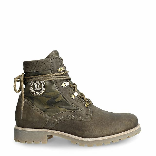 Route Boot Reporter Khaki Nobuck Woman
