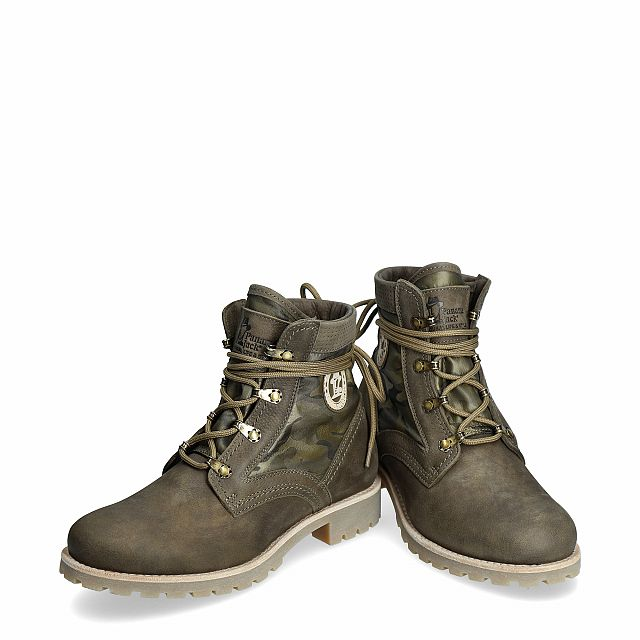 Route Boot Reporter Kakhi Nobuck Woman Footwear