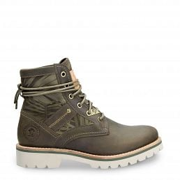 Route Boot Reporter Forest Khaki Napa Grass Woman Footwear