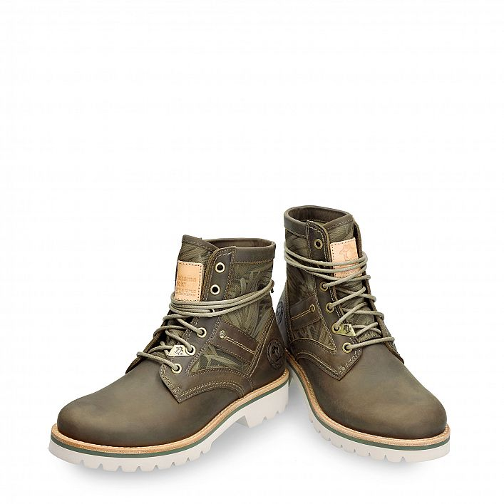 Route Boot Reporter Forest Khaki Napa Grass
