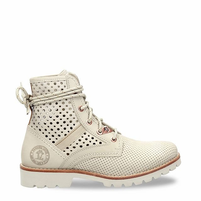 Panama Jack Route Boot Summer Ice Nobuck Woman