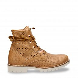 Route Boot Summer Camel Nappa Dames