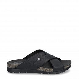 Panama Jack Salman Black Napa Man Footwear