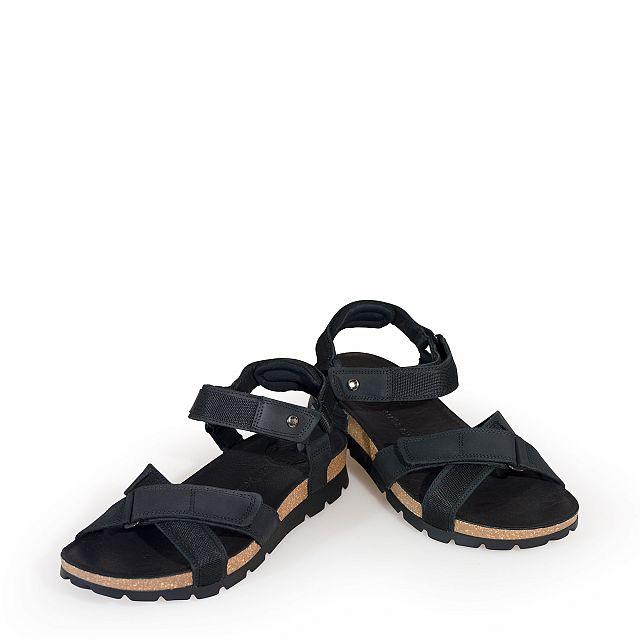 Sambo Basics Black Napa Grass Man Footwear