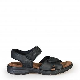 Sanders Basics Black Napa Grass Man Footwear