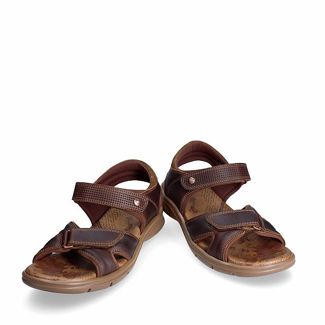Sanders Explorer Chestnut Napa Grass Man Footwear