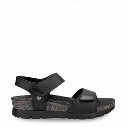 Scarlett Basics Black Napa Grass Woman Footwear