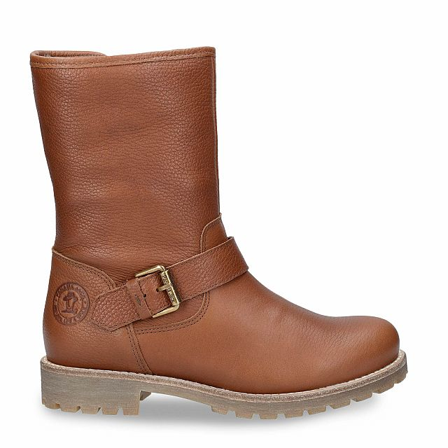 Natural leather boot with a lining of Sheepskin