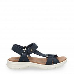 Siro Navy blue Nobuck Man Footwear