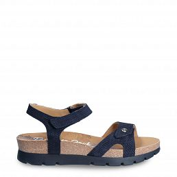 Sulia Menorca Navy blue Velour