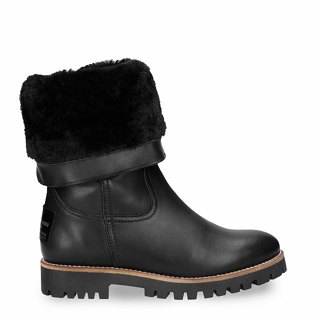 Tania Igloo Travelling Black Napa Woman Footwear