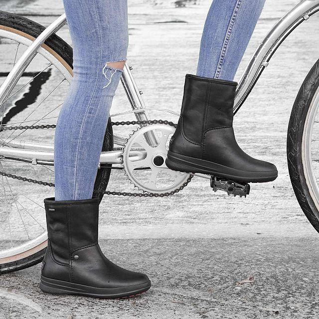Telsa Gtx Black Napa Woman Footwear