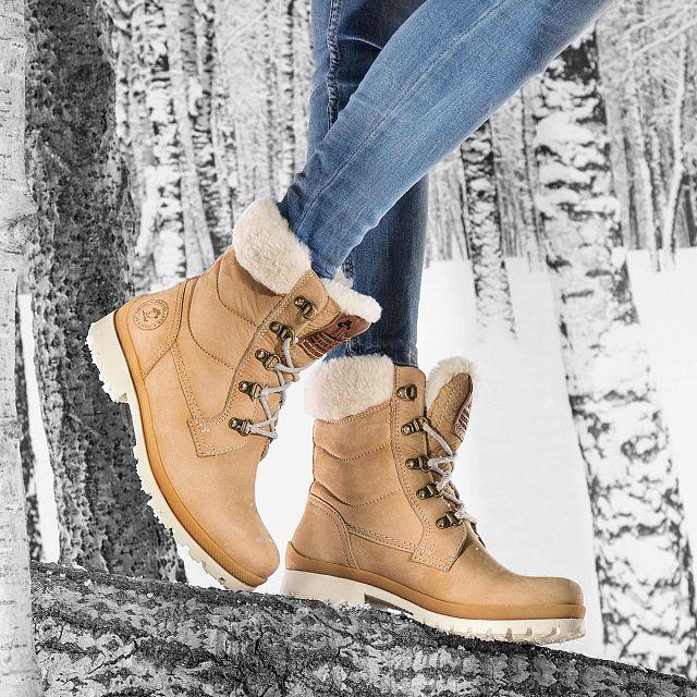 Tuscani Natural Nobuck Woman Footwear