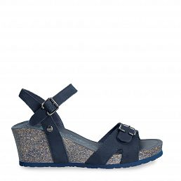Valentine Basics Navy blue Nobuck Woman Footwear