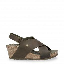 Panama Jack Valeska Basics Khaki Napa Grass Woman Footwear