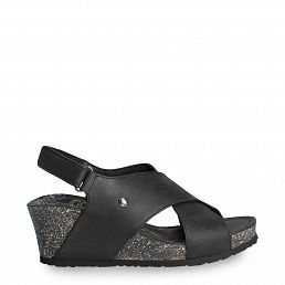 Valeska Basics Black Napa Grass Woman Footwear