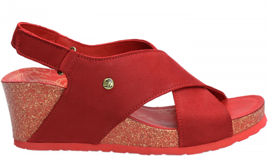 Valeska Basics Rojo Nobuck