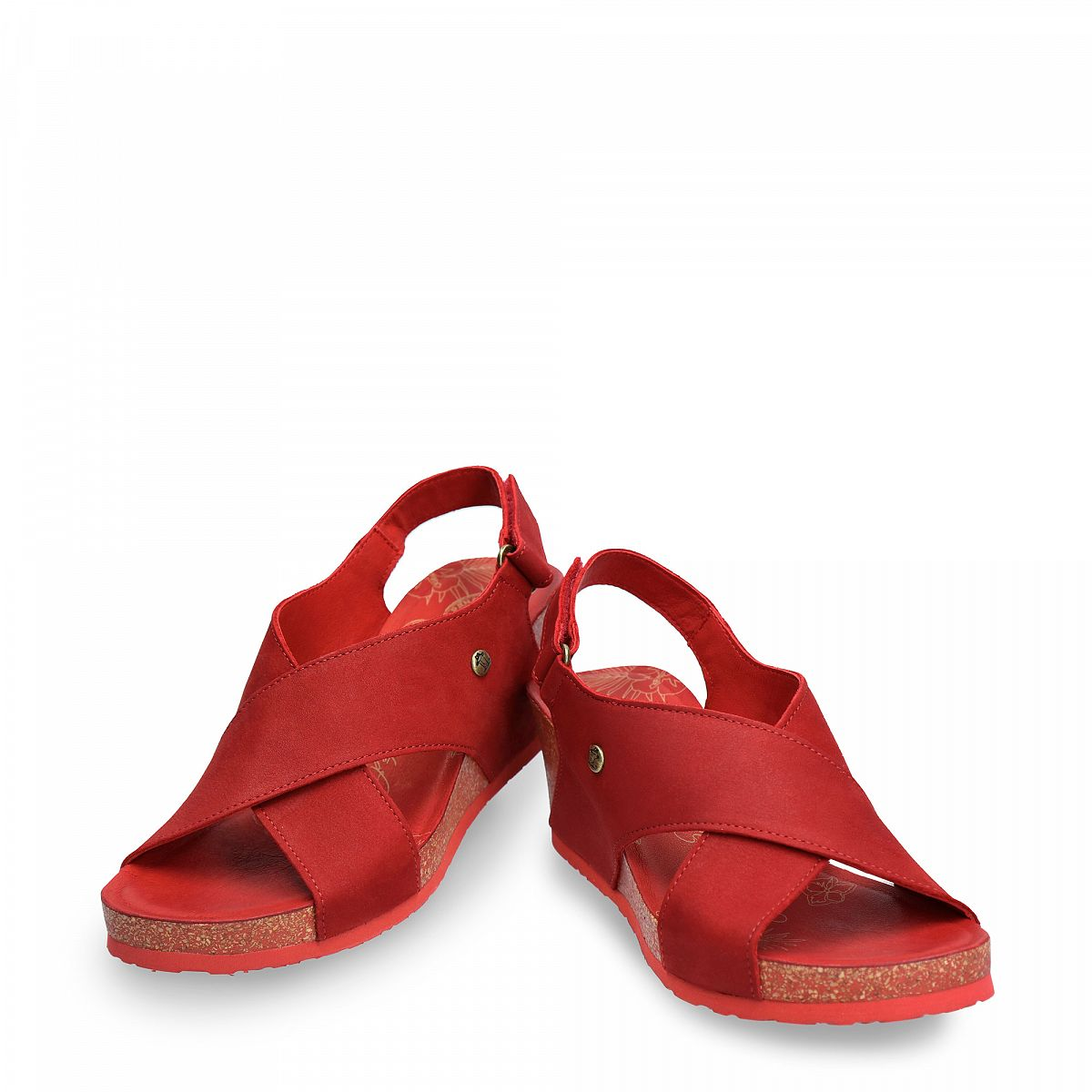Valeska Basics Red Nobuck