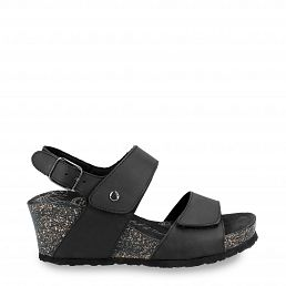 Panama Jack Vanessa Basics Black Napa Grass Woman Footwear