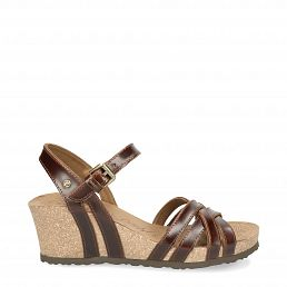 Vera Clay Cognac Pull-Up Damen Schuhmode