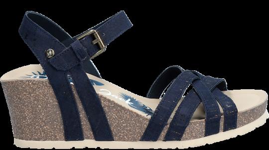 Vera Cork Basics Navy blue Tejido