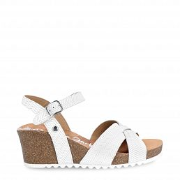 Vika Menorca White Napa Woman Footwear