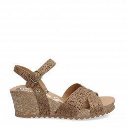 Vika Roses Mink Napa Grass Woman Footwear