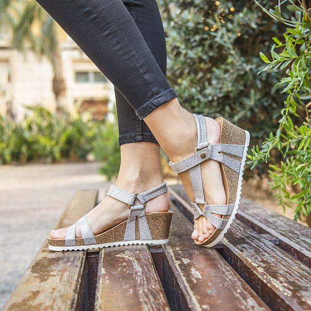 Violetta Snake Charol Grey Charol Woman Footwear