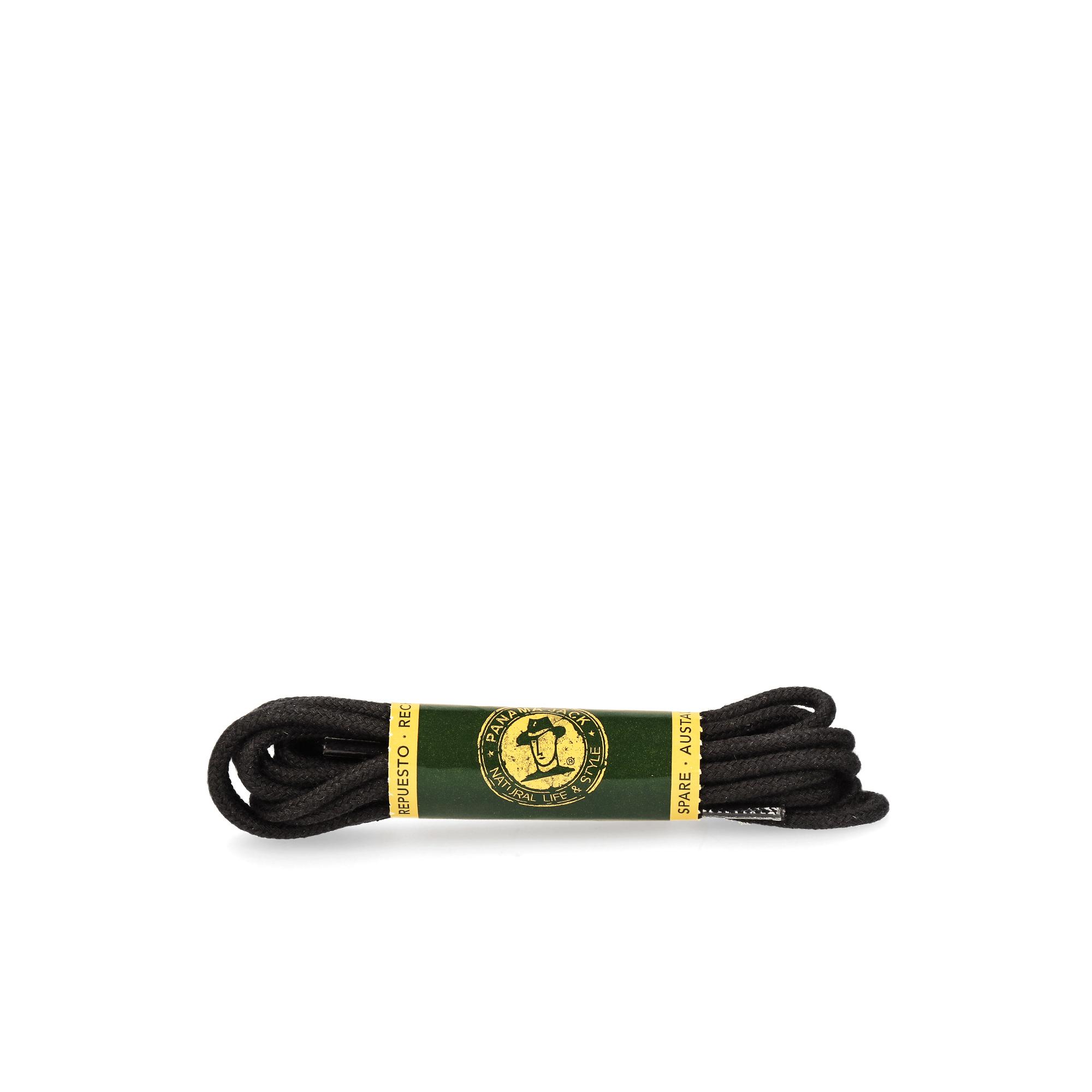 Shoelaces 135 Cm in black Black T