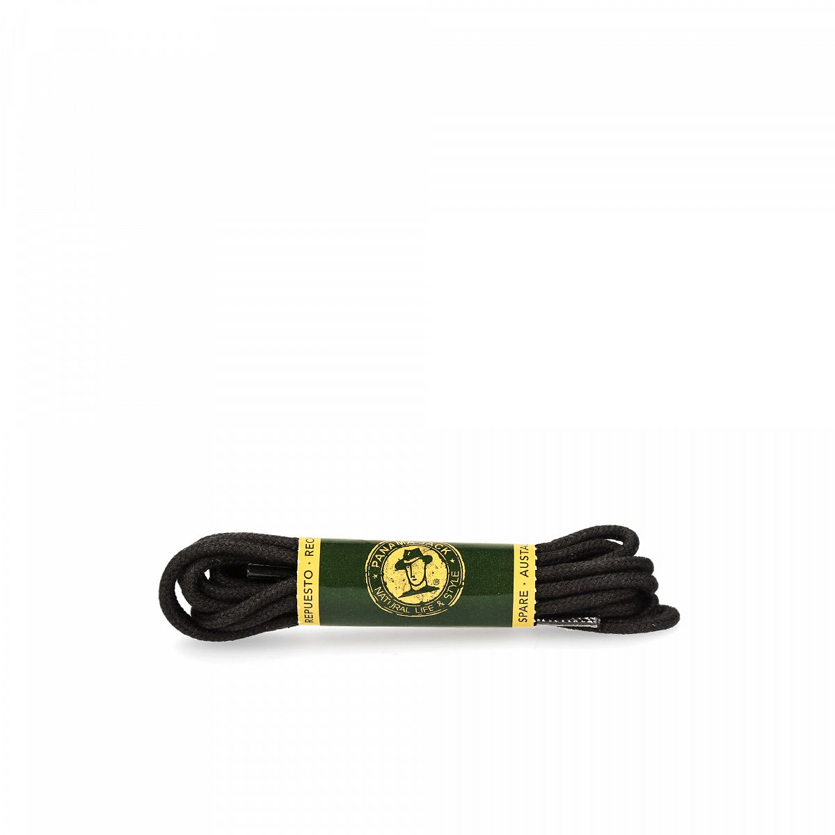 Shoelaces 135 Cm in black Black T