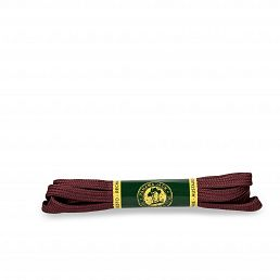 Shoelaces 125 Cm in Burgundy Burgundy Poliester