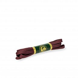 Burgund-Schnürsenkel für Stiefel und Stiefeletten mit 6 Ösen