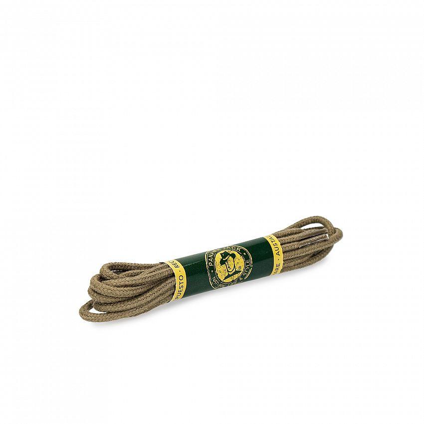 Shoelaces 125 Cm in Kakhi Kakhi Algodon