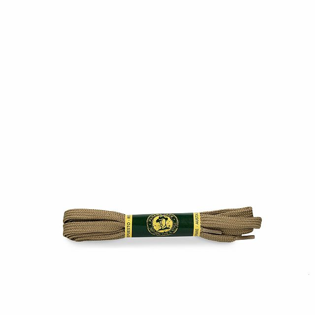 Panama Jack Shoelaces 125 Cm in kakhi Kakhi Poliester Man