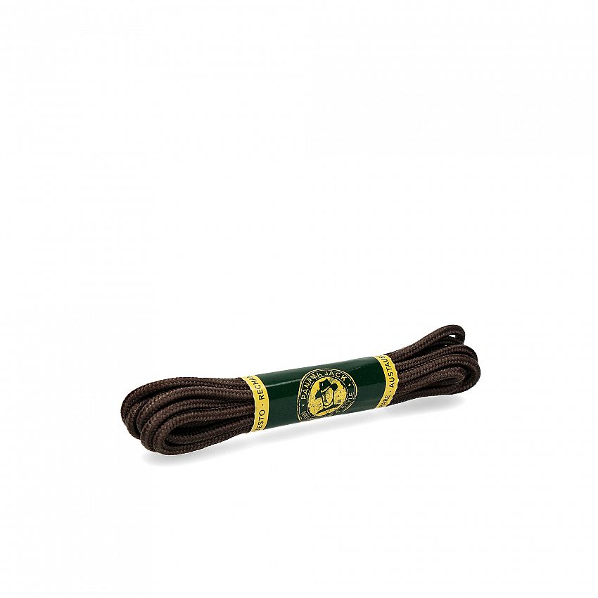 Shoelaces 135 Cm in brown Brown Poliester